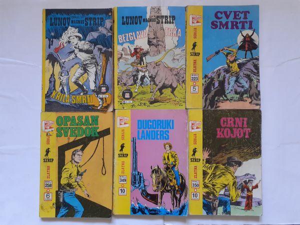 #Lot od 6 starih stripova ZS/LMS Teks od 1 kune!